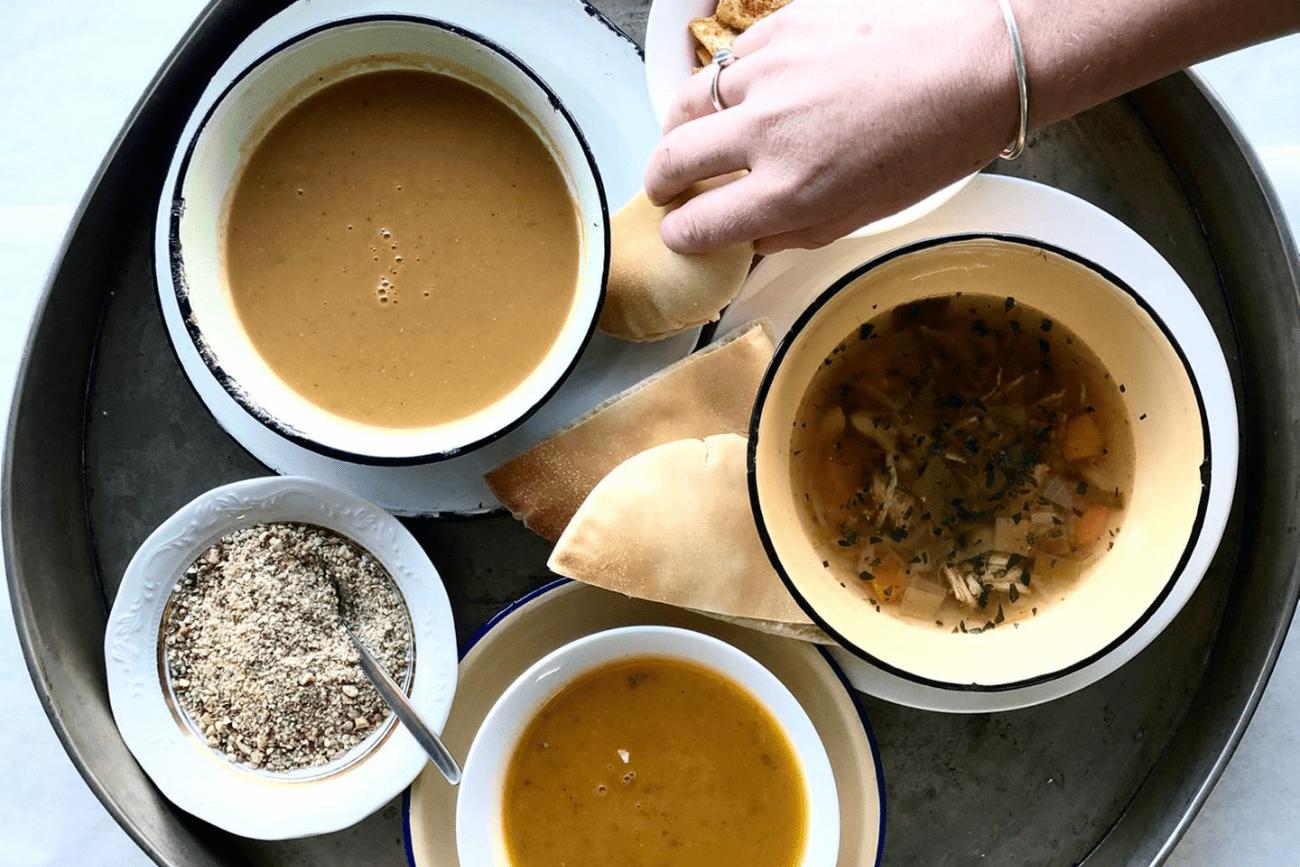 Soup season is here